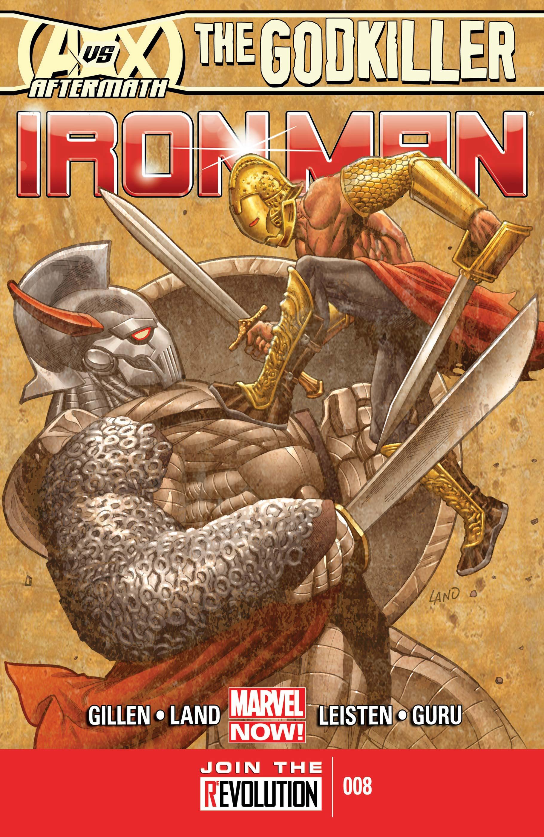Iron Man (2012) #8