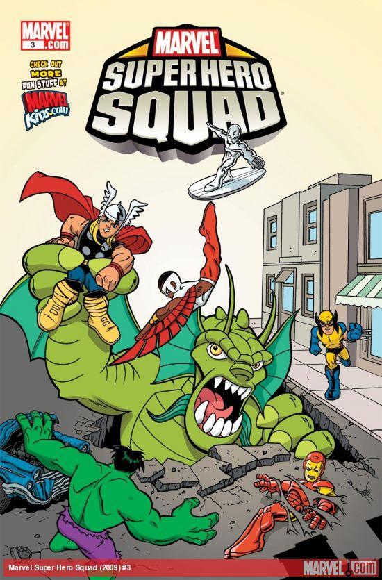 Marvel Super Hero Squad (2009) #3