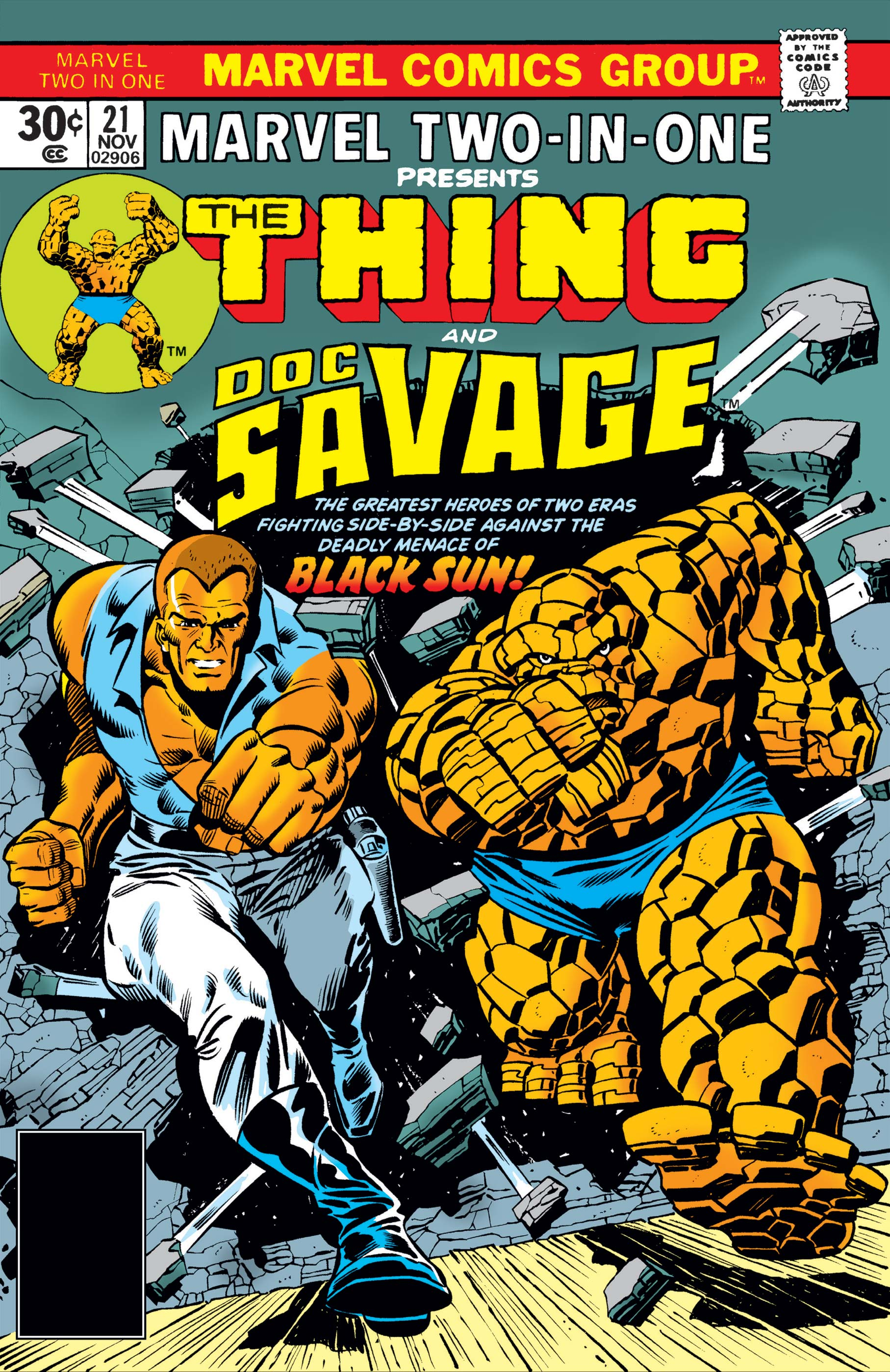 Marvel Two-in-One (1974) #21