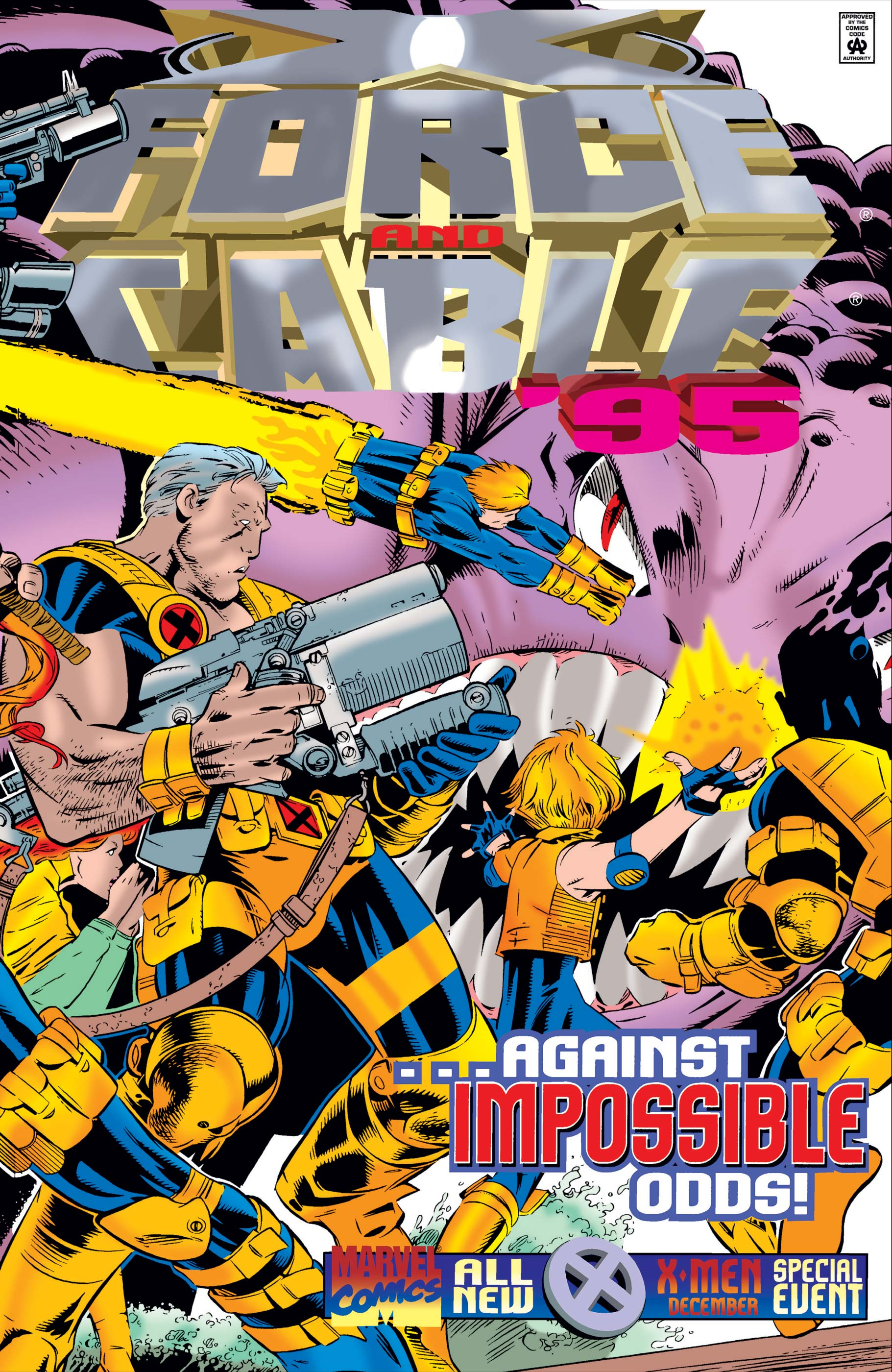 X-Force/Cable Annual (1995) #1