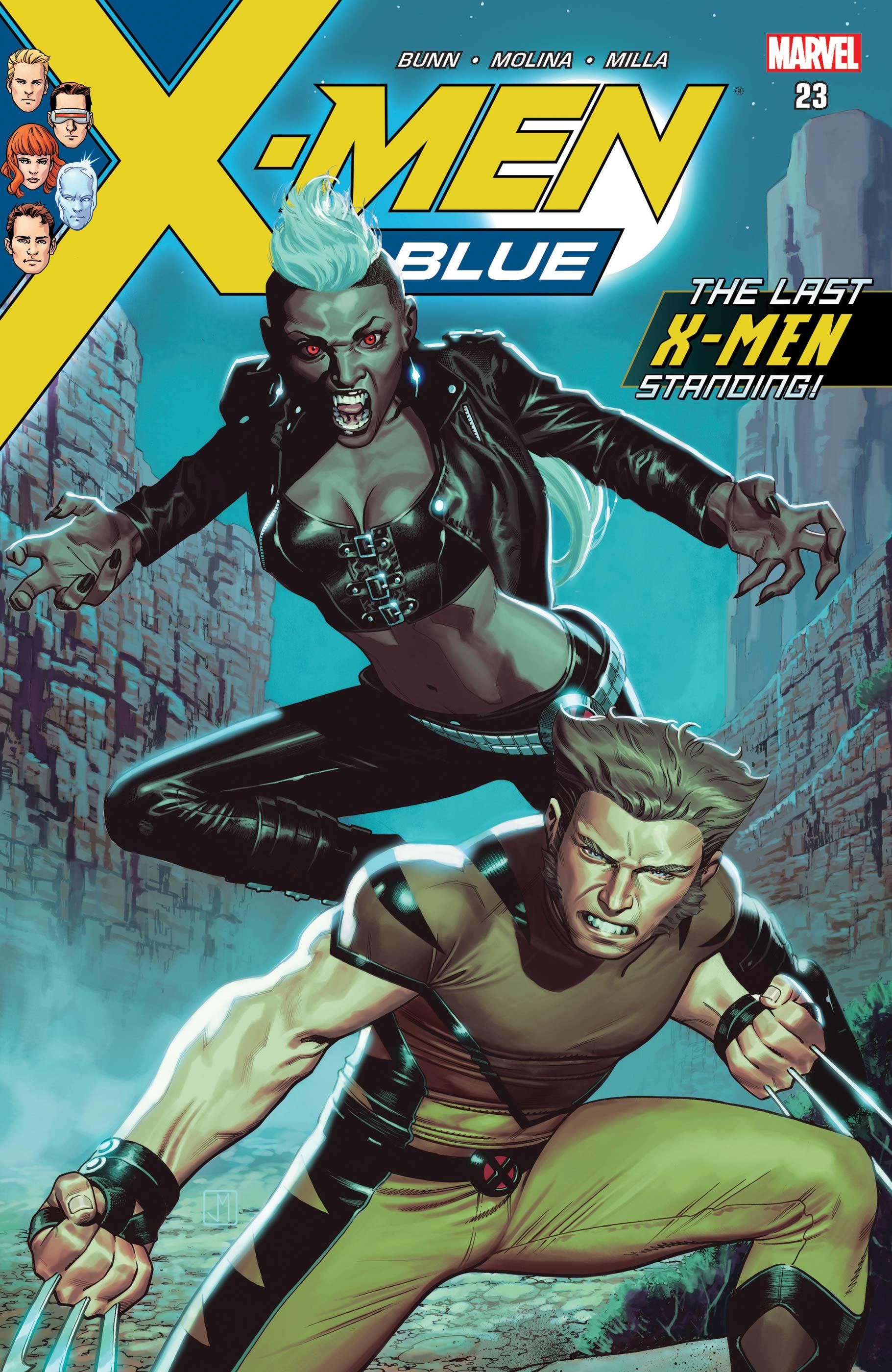 X-Men: Blue (2017) #23