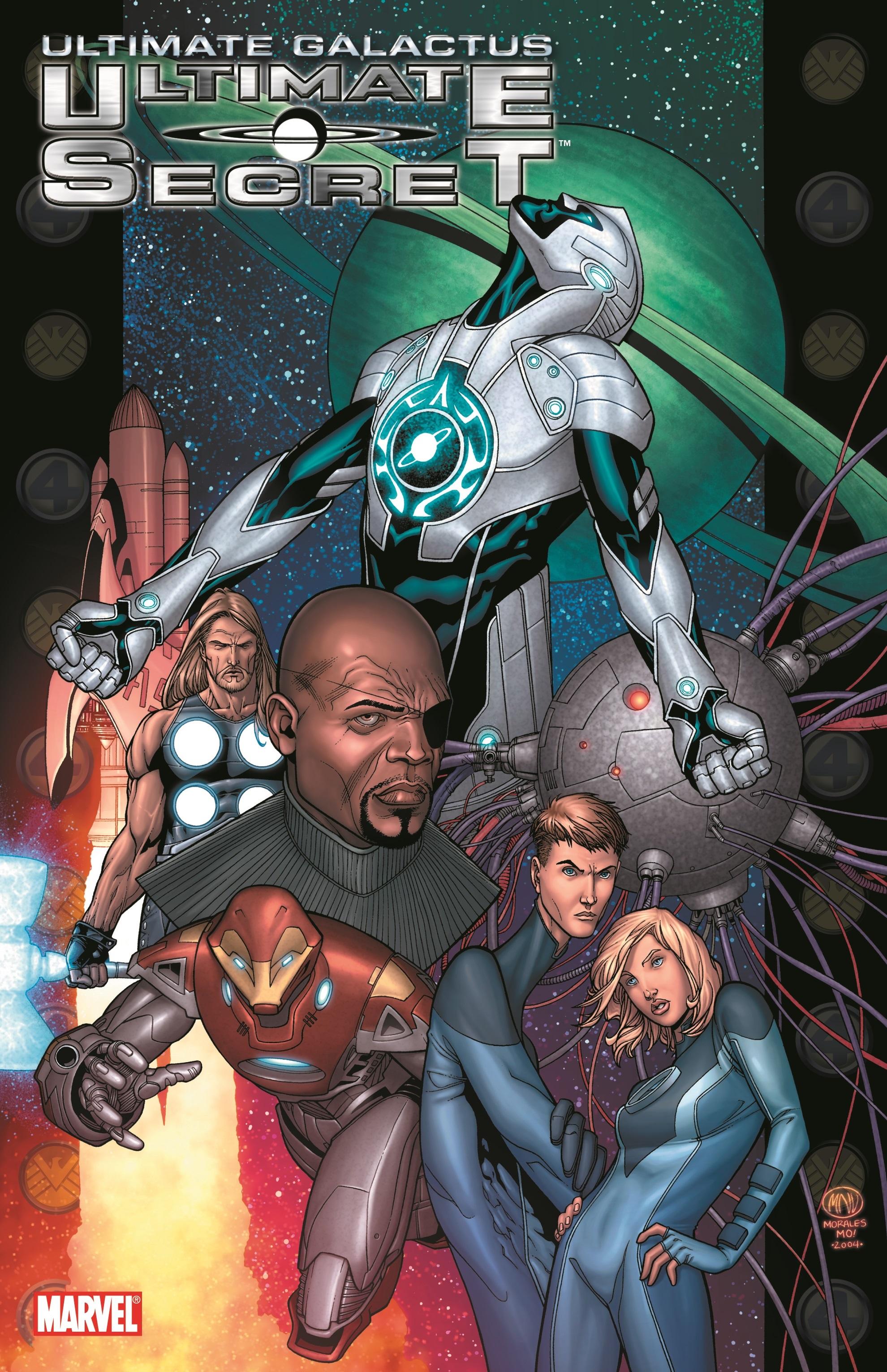 Ultimate Galactus Book 2: Secret (Trade Paperback)