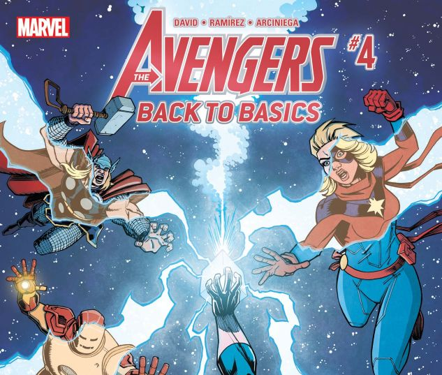 Avengers: Back to Basics CMX Digital Comic (2018) #4