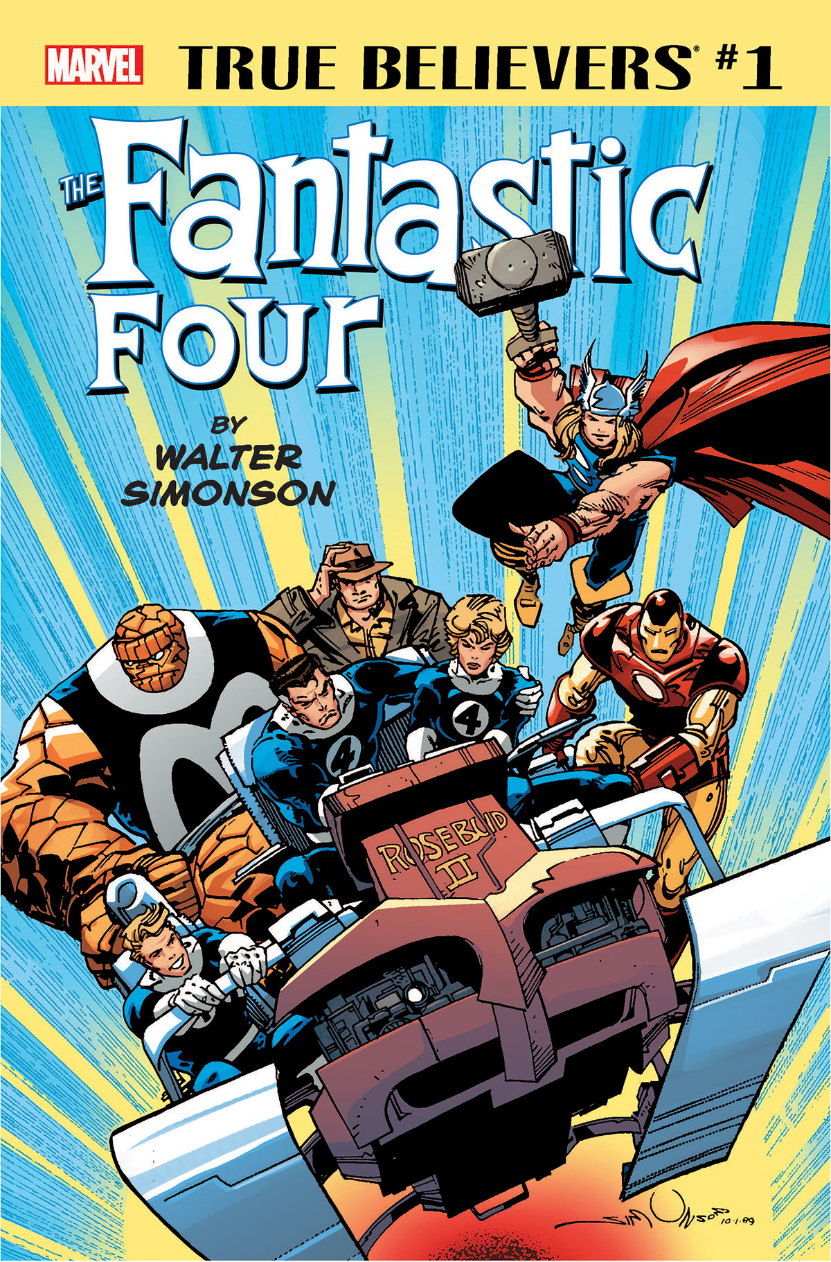 True Believers: Fantastic Four by Walter Simonson (2018) #1