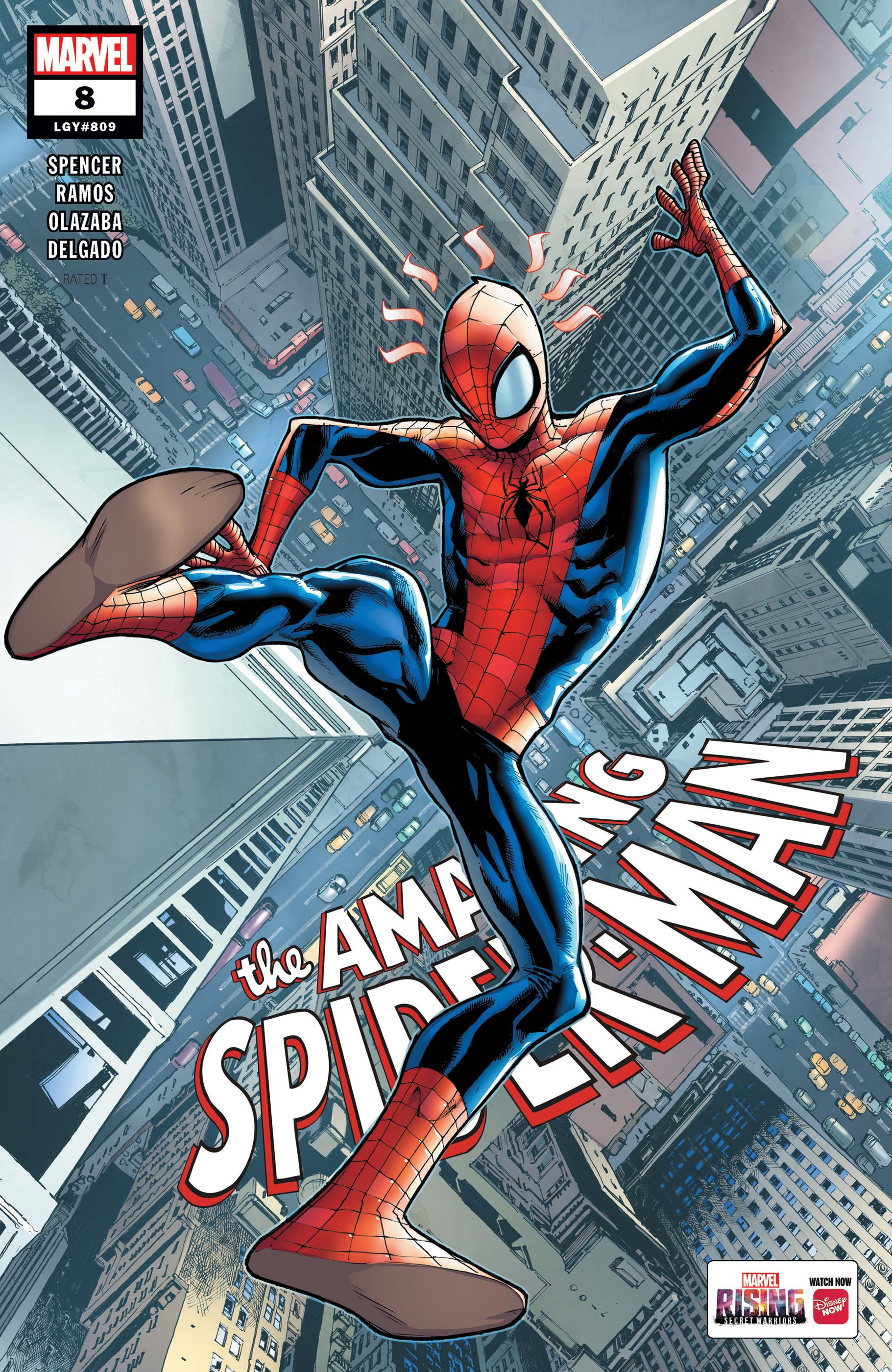 The Amazing Spider-Man (2018) #8