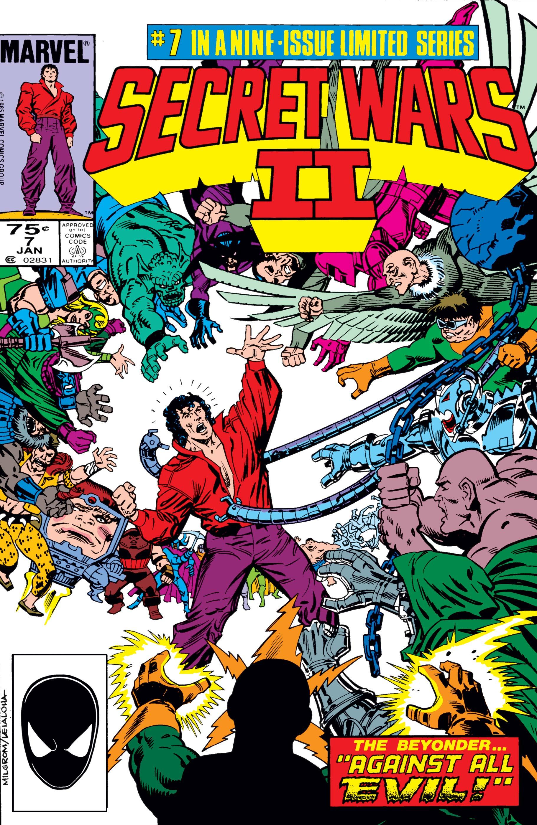 Secret Wars II (1985) #7