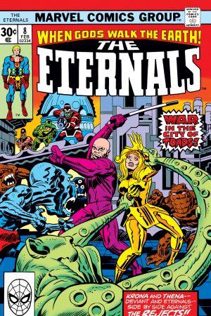 Eternals (1976) #8