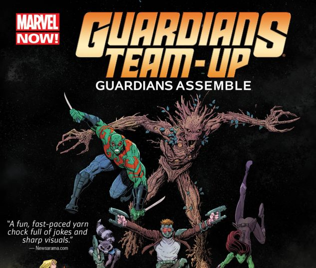 cover from Guardians Team-Up (2015)