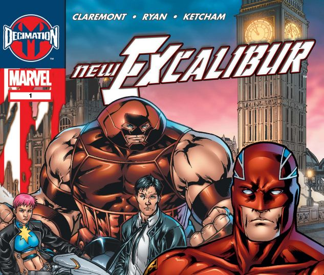 NEW EXCALIBUR (2005) #1