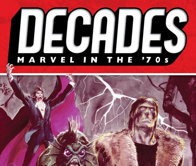 cover from DECADES: MARVEL IN THE '70S - LEGION OF MONSTERS TPB (2019) #1
