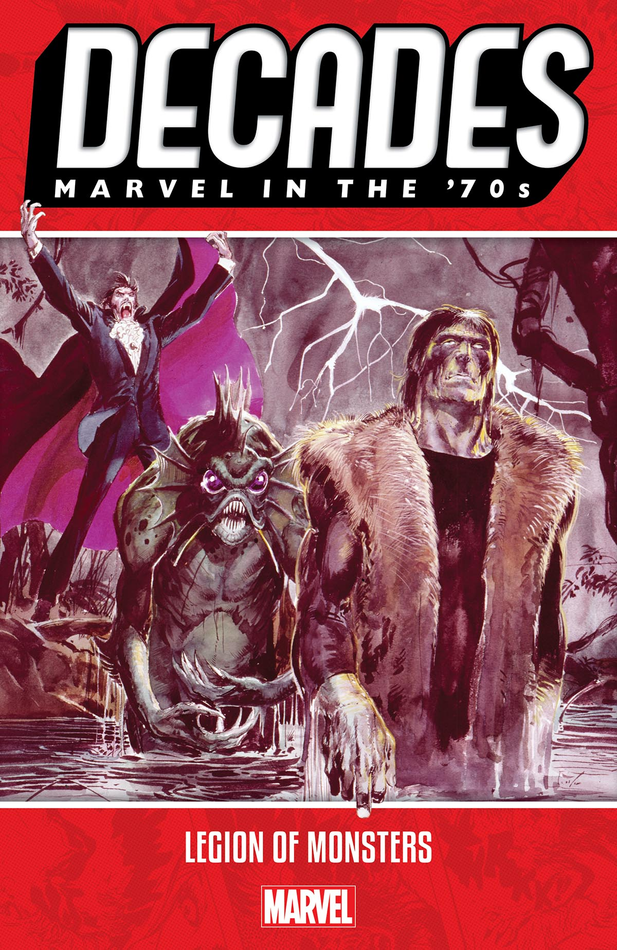 Decades: Marvel In The '70s - Legion Of Monsters (Trade Paperback)