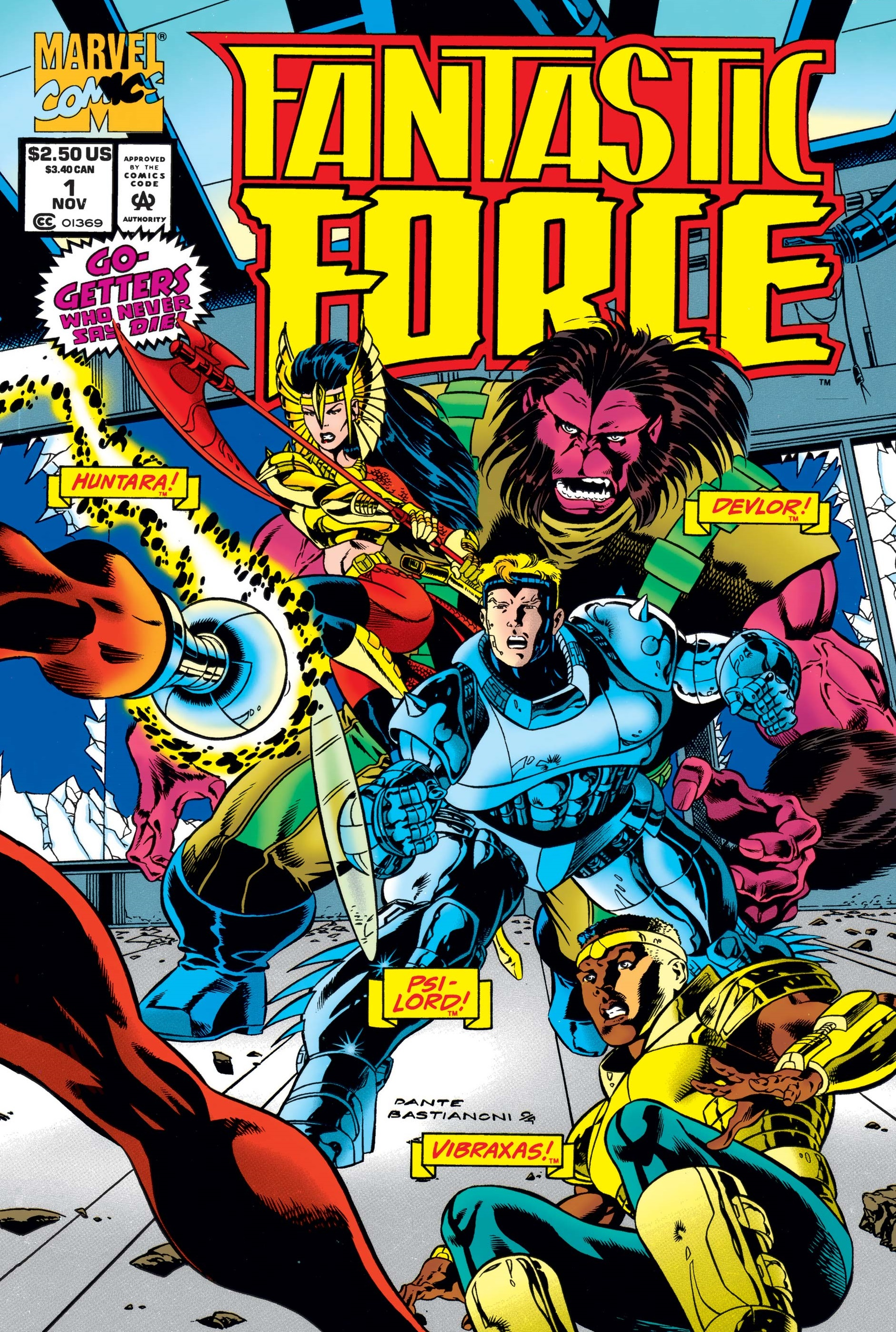 Fantastic Force (1994) #1