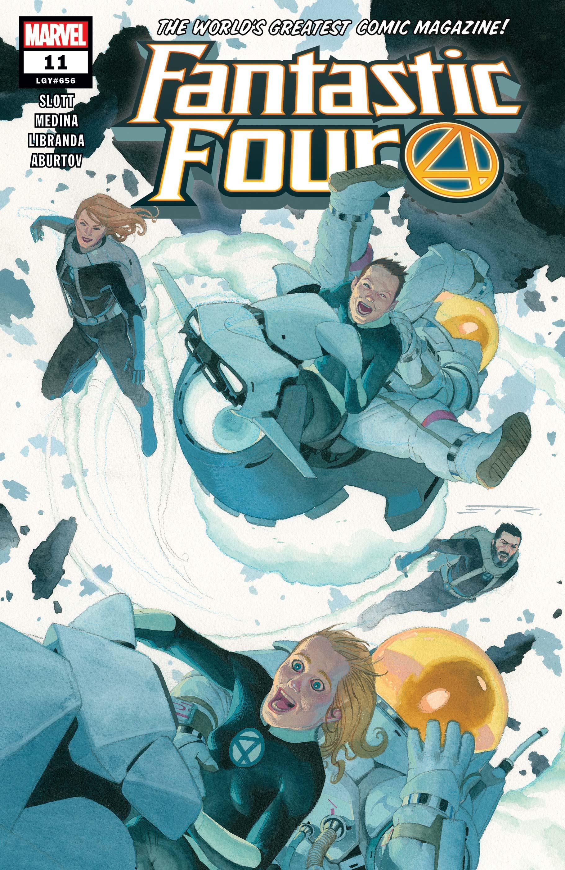 Fantastic Four (2018) #11