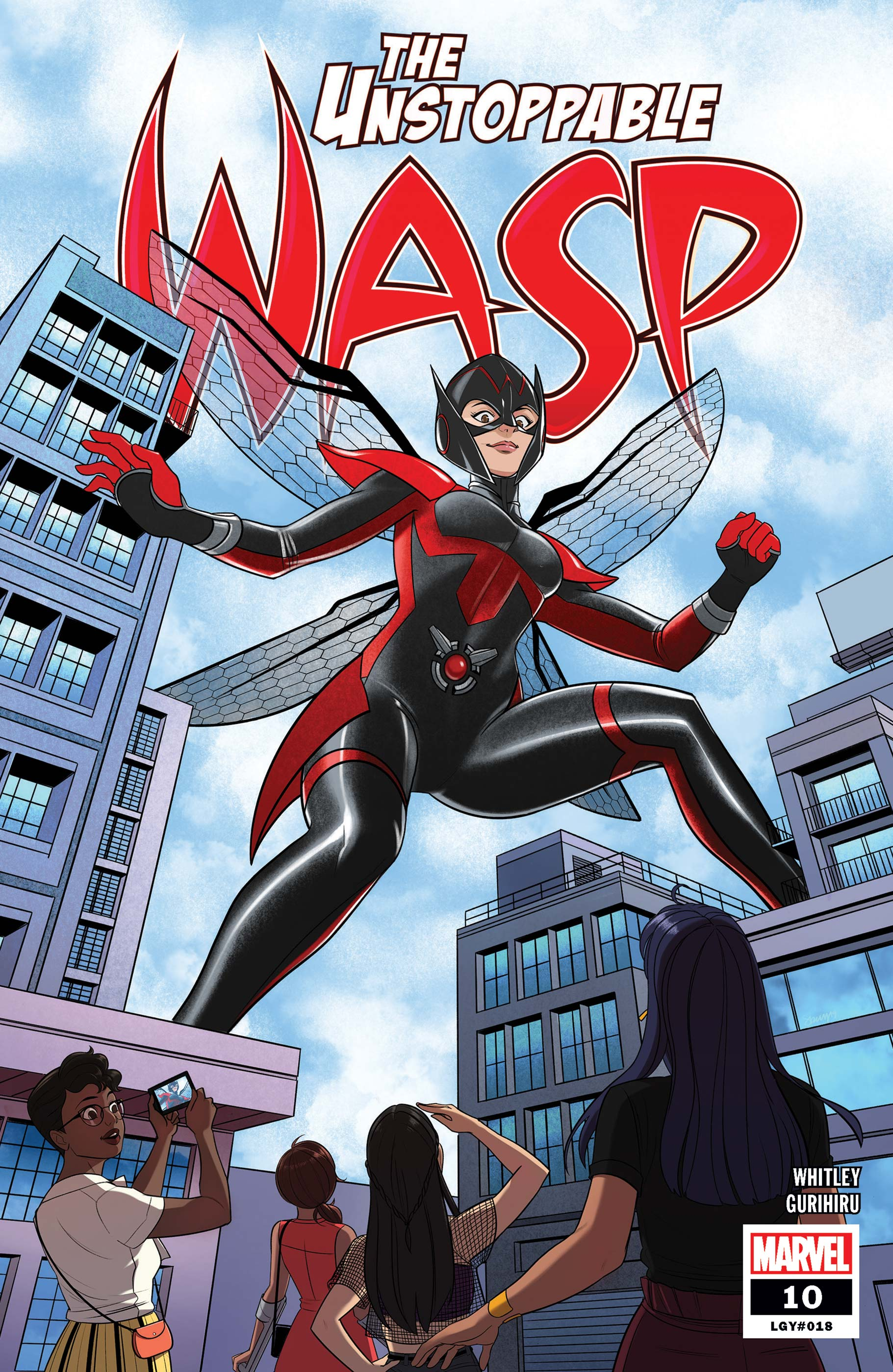 The Unstoppable Wasp (2018) #10