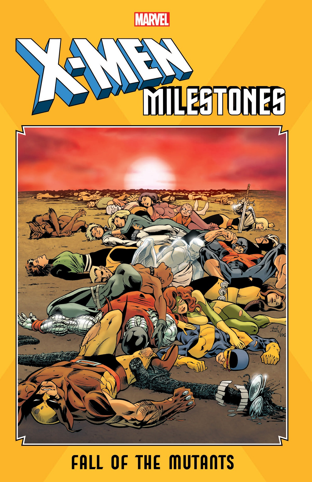 X-Men Milestones: Fall Of The Mutants (Trade Paperback)