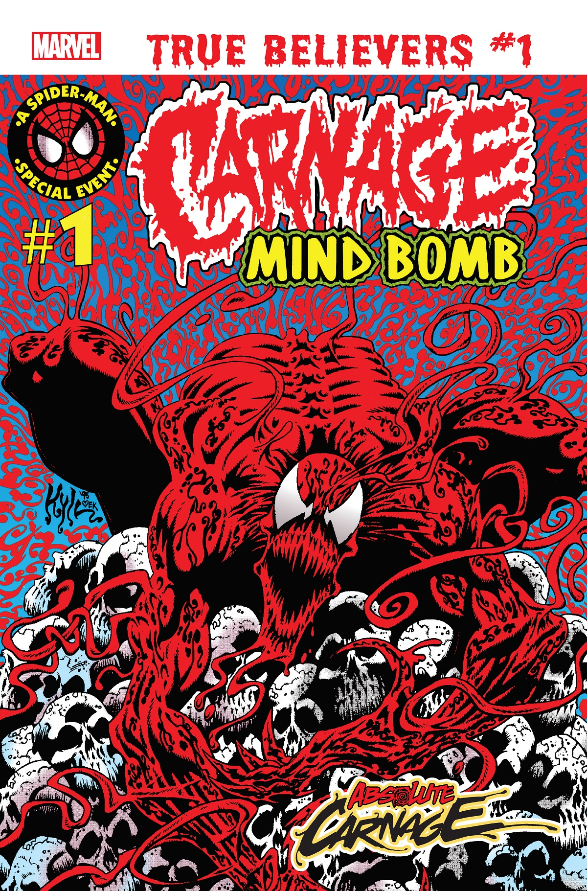 True Believers: Absolute Carnage - Mind Bomb (2019) #1