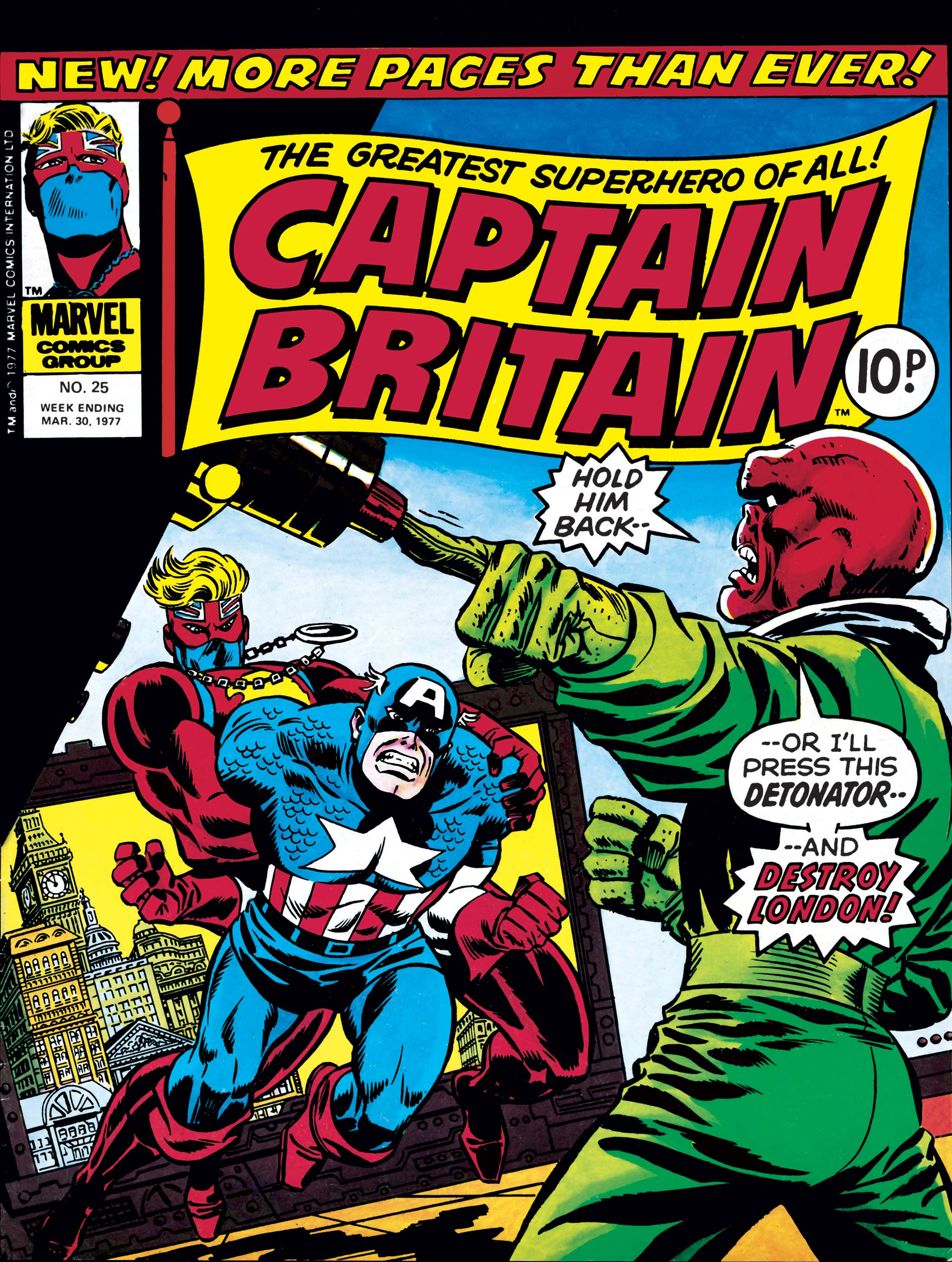 Captain Britain (1976) #25