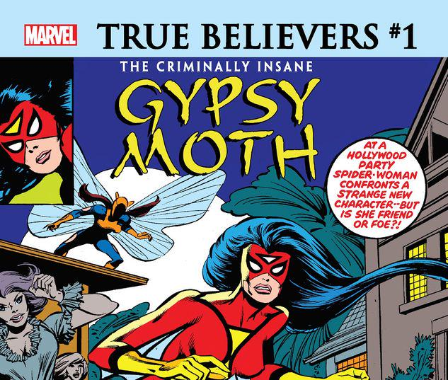 TRUE BELIEVERS: THE CRIMINALLY INSANE - GYPSY MOTH 1 #1