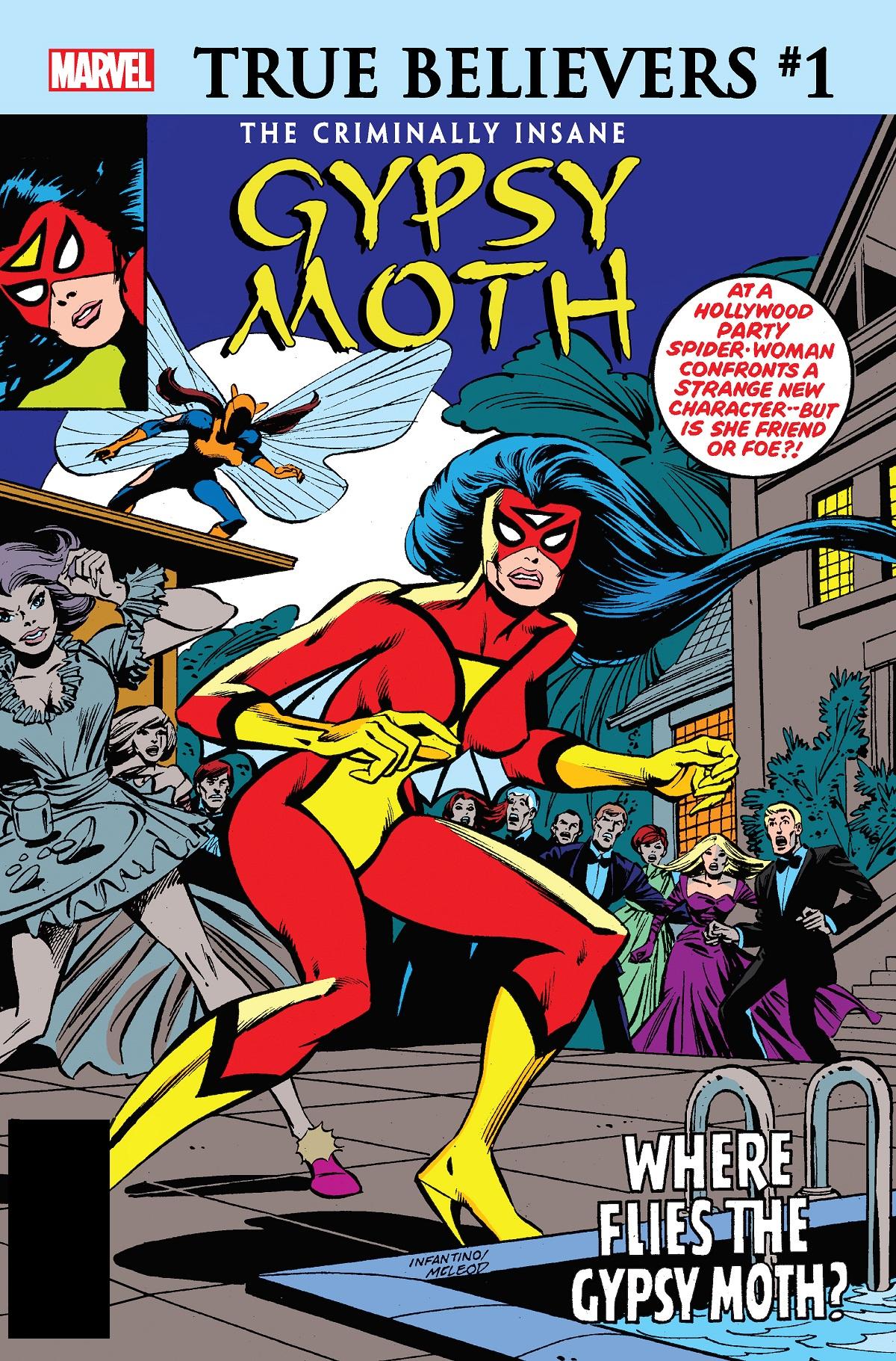 True Believers: The Criminally Insane - Gypsy Moth (2020) #1