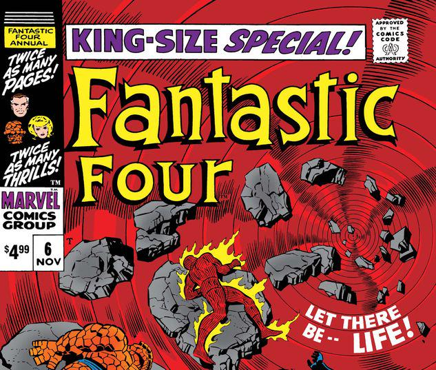 FANTASTIC FOUR ANNUAL 6 FACSIMILE EDITION #1