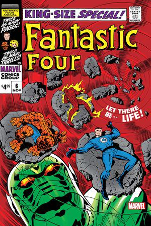Fantastic Four Annual Facsimile Edition (2020) #6