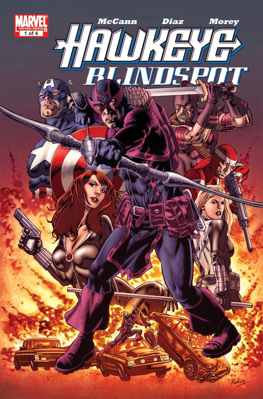 Hawkeye: Blindspot (2011) #1