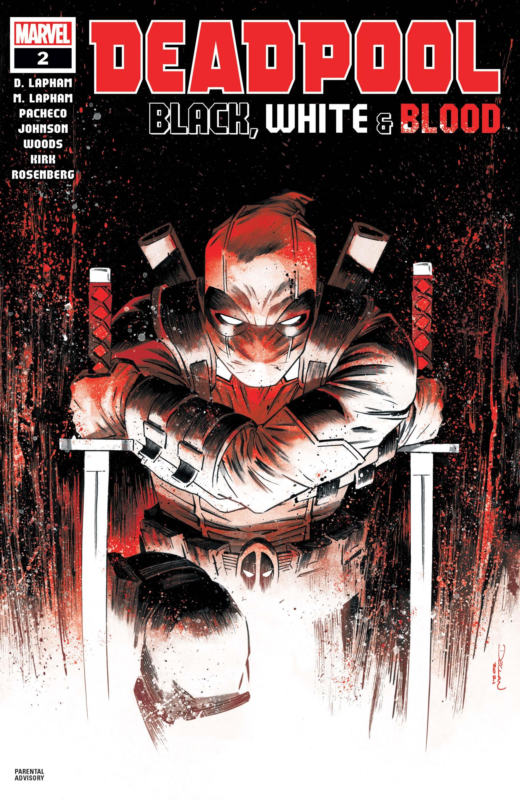 Deadpool: Black, White & Blood (2021) #2
