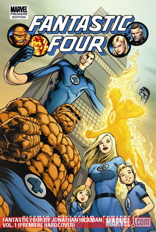 Fantastic Four by Jonathan Hickman Vol. 1 (Hardcover)