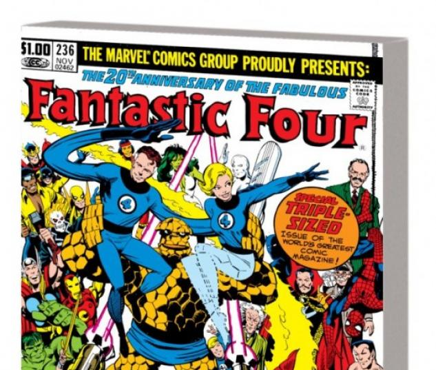 FANTASTIC FOUR VISIONARIES: JOHN BRYNE VOL. 1 TBP (NEW PRINTING) #1
