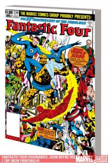 Fantastic Four Visionaries: John Bryne Vol. 1 Tbp (Trade Paperback)