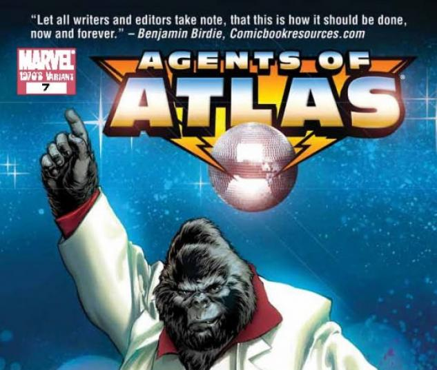 AGENTS OF ATLAS #7 (70S DECADE VARIANT)