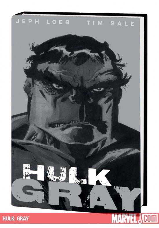 Hulk: Gray (Hardcover)