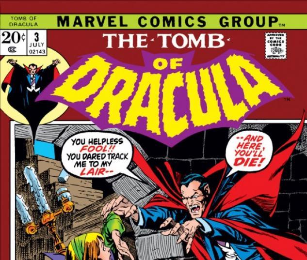 Tomb Of Dracula #3