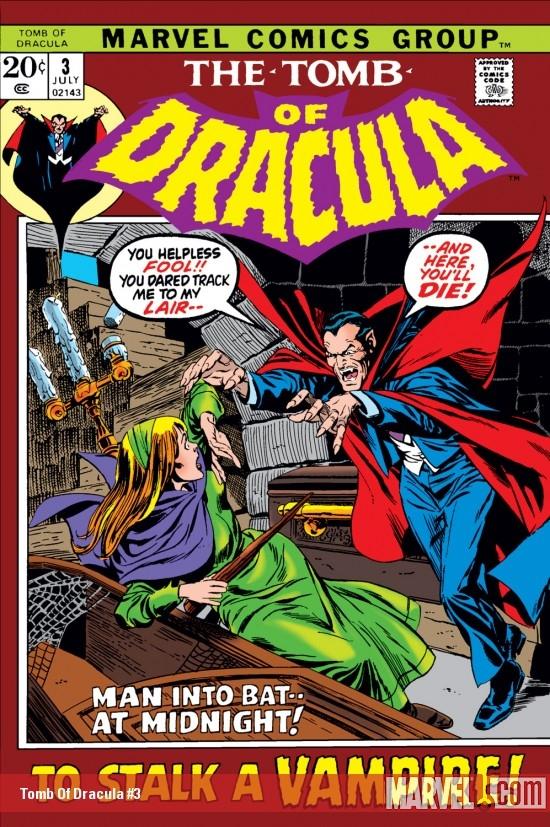Tomb of Dracula (1972) #3