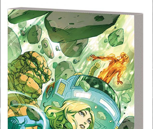 FANTASTIC FOUR: TRUE STORY TPB #1