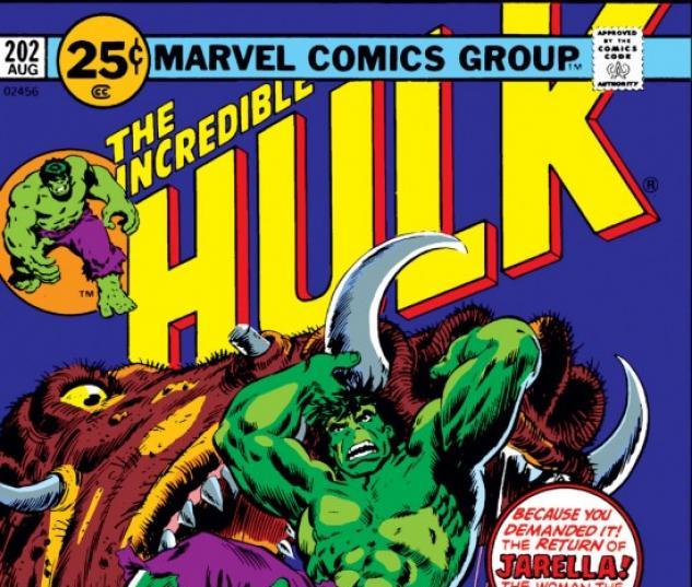 INCREDIBLE HULK (2009) #202 COVER