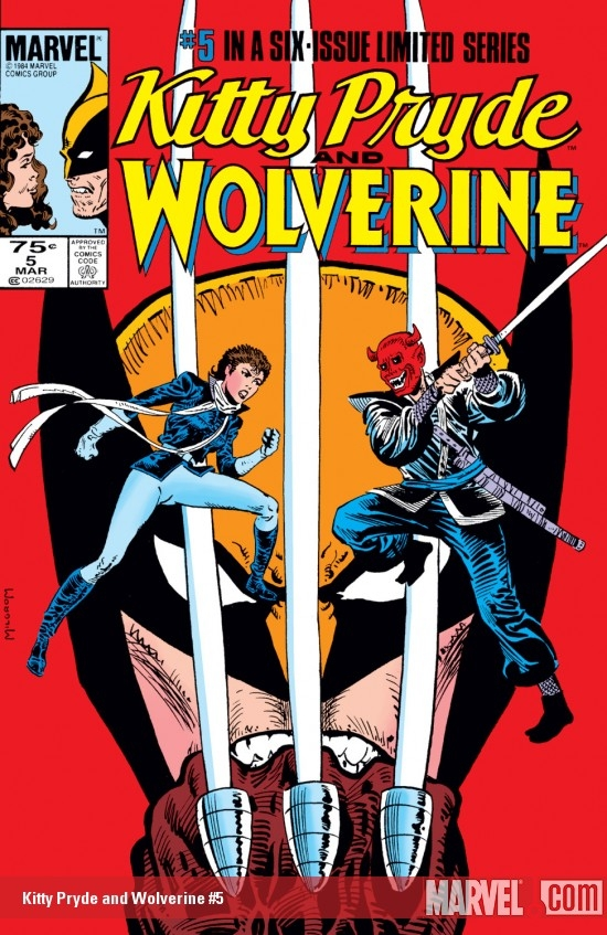 Kitty Pryde and Wolverine (1984) #5