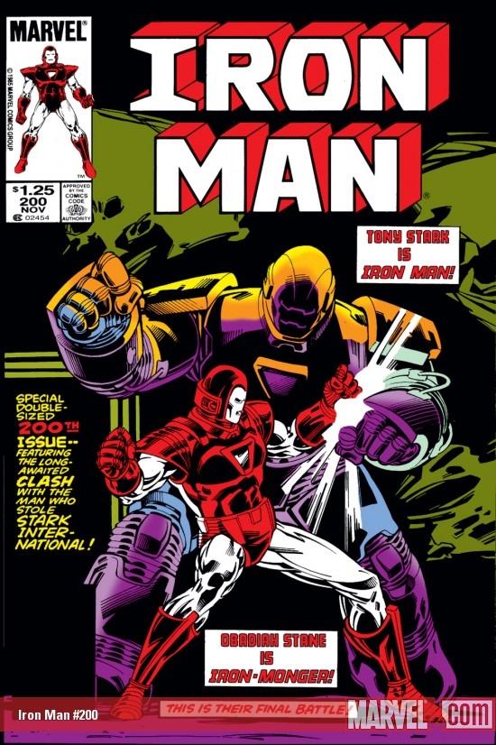 Iron Man (1968) #200