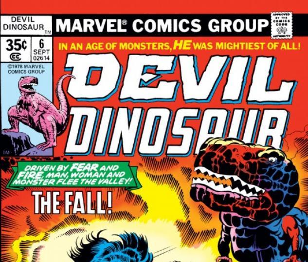 DEVIL DINOSAUR #6 COVER