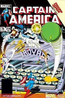 Captain America #314