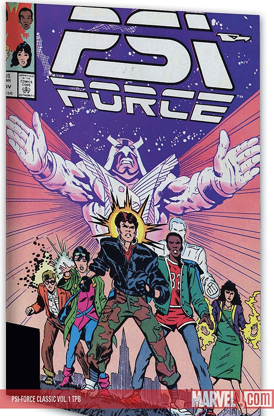 Psi-Force Classic Vol. 1 (Trade Paperback)
