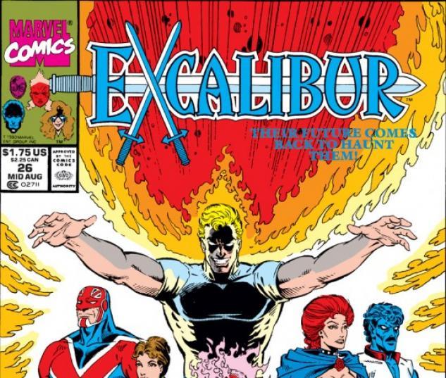 EXCALIBUR #26 COVER