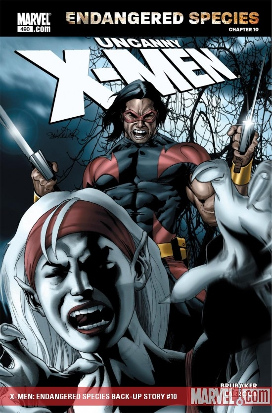 X-Men: Endangered Species Back-Up Story (2007) #10