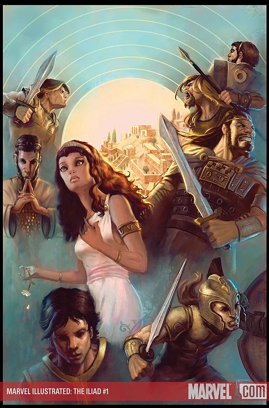 Marvel Illustrated: The Iliad (2007) #1