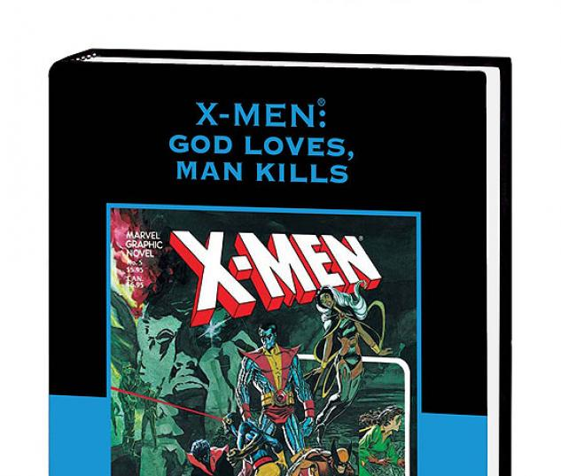 X-MEN: GOD LOVES, MAN KILLS PREMIERE HC DM ONLY #0