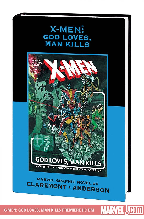 X-Men: God Loves, Man Kills DM Only (Hardcover)