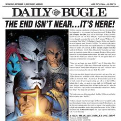 DAILY BUGLE: OCTOBER #13