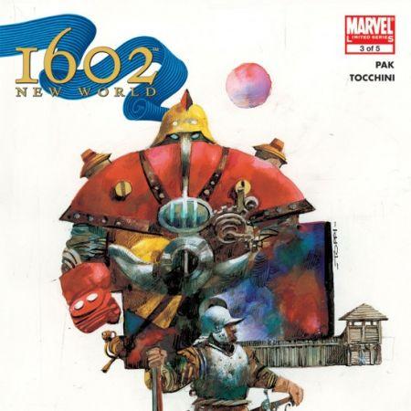 MARVEL 1602: NEW WORLD (2007) #3 COVER