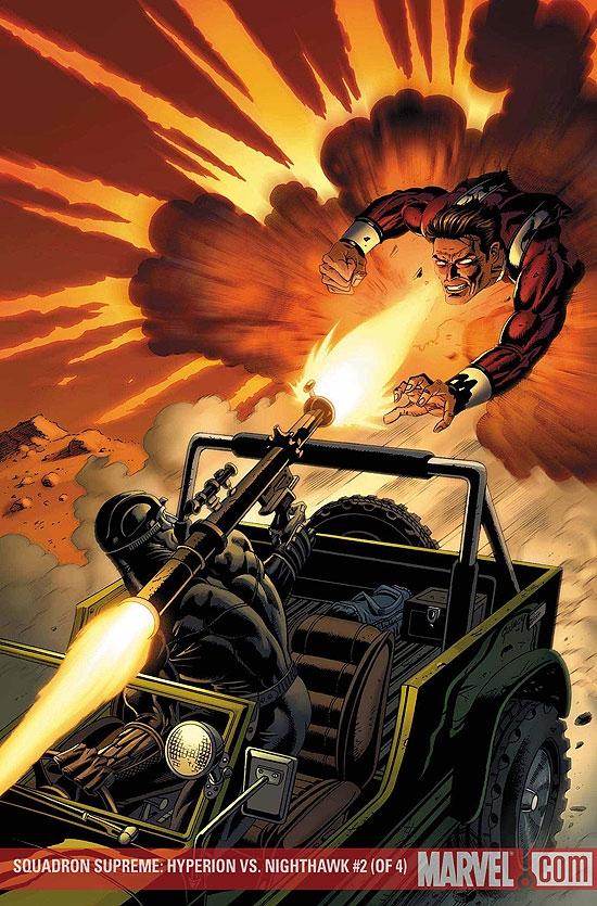 Squadron Supreme: Hyperion Vs. Nighthawk (2007) #2