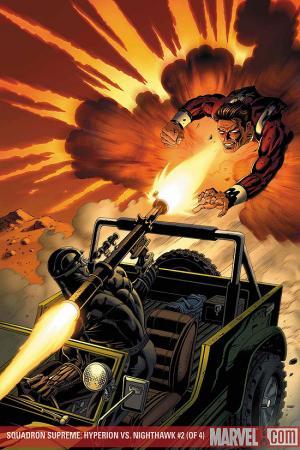 Squadron Supreme: Hyperion Vs. Nighthawk #2